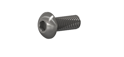 Picture of M3 x 10mm Button Head Cap Screw (50 pack)