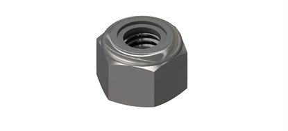 Picture of M3 Nyloc Nut (100 pack)