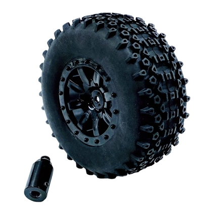 Picture of 110mm All-Terrain Wheel w/6mm Adapter