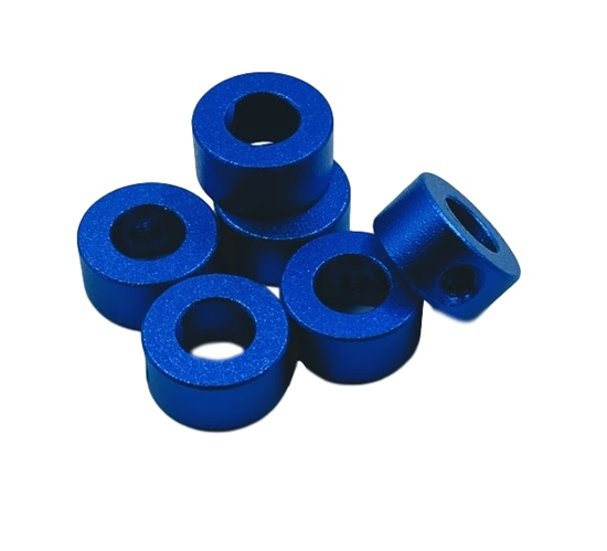 Picture of D-Shaft Collar 6mm ID x 12mm OD (6 pack)