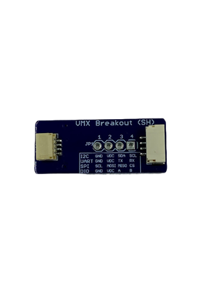 Picture of VMX JST GH to SH Breakout Board